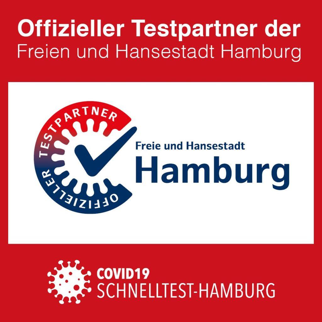 Siegel Testpartner Zentrum Hamburg
