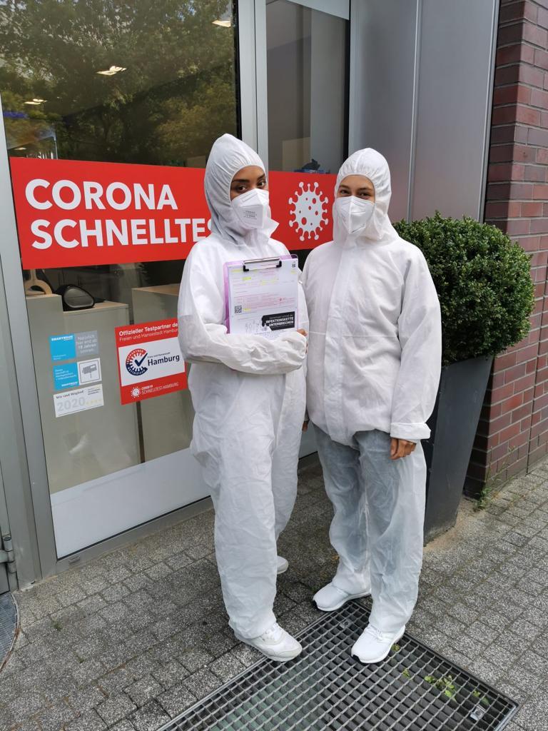 Filiale Corona Teststelle Poppenbüttel