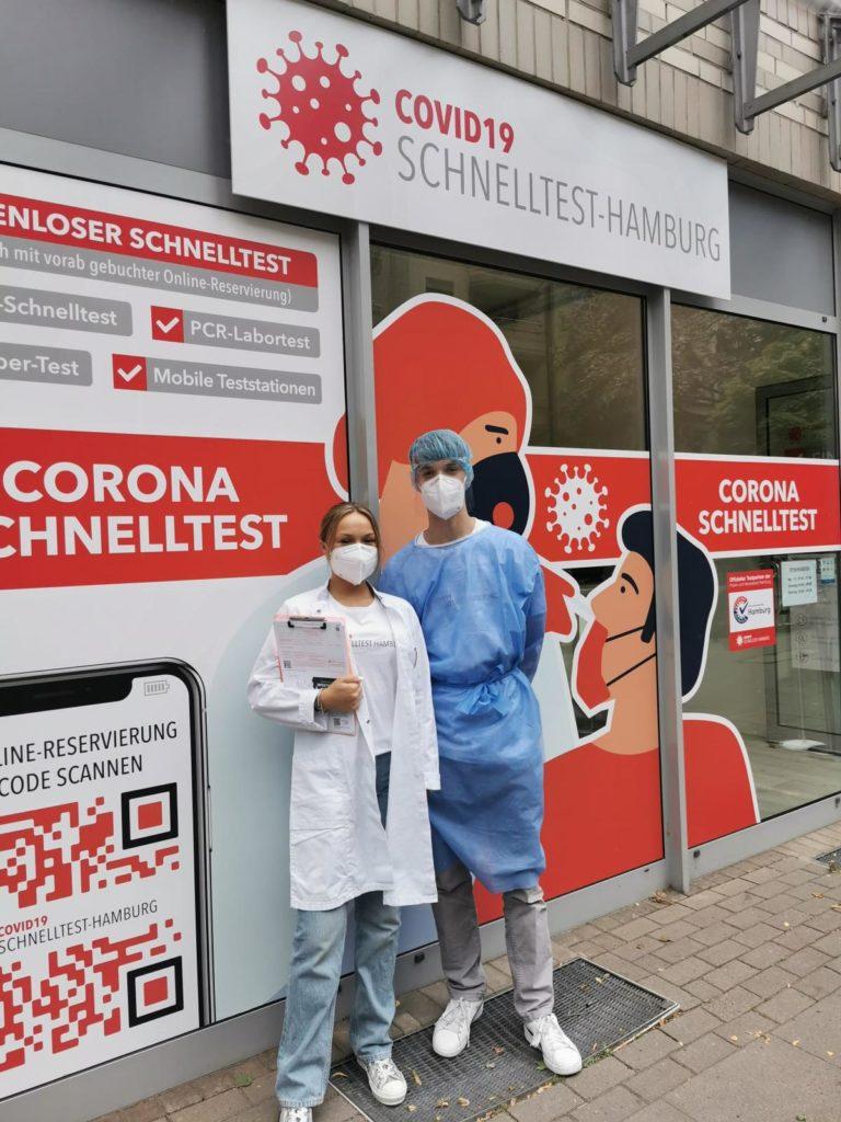 Filiale Corona Teststelle Winterhude